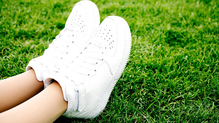 How to Get Grass Stains Out of White Shoes