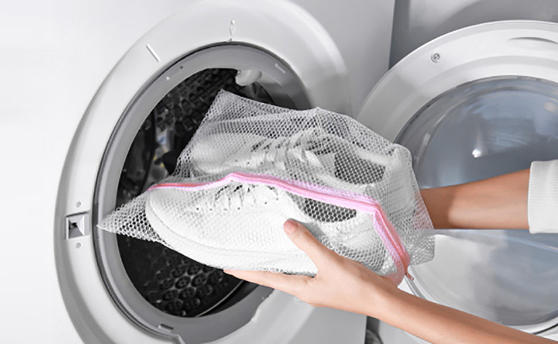 Place Your Shoes into the Washer