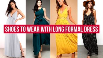Shoes to Wear with Long Formal Dress