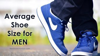What is the Average Shoe Size for Men