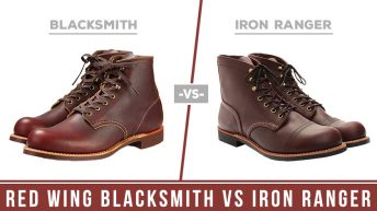 Red Wing Blacksmith Vs Iron Ranger