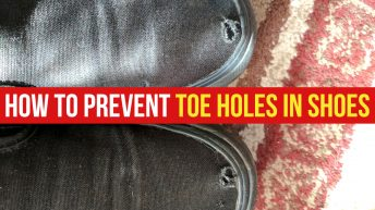 How to Prevent Toe Holes in Shoes