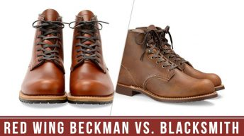 Red Wing Beckman Vs. Blacksmith